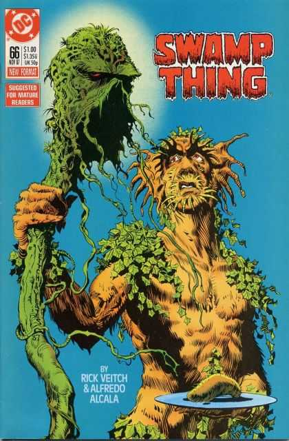 Swamp Thing 66 - Tendrils - Leaves - Organic - Infection - Scepter