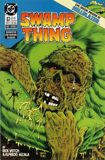 Swamp Thing 67 - Hellblazer - Green - No 67 - December - Rick Veitch - Rick Veitch, Thomas Yeates