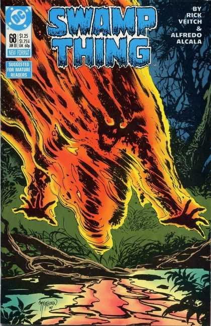 Swamp Thing 68 - John Totleben