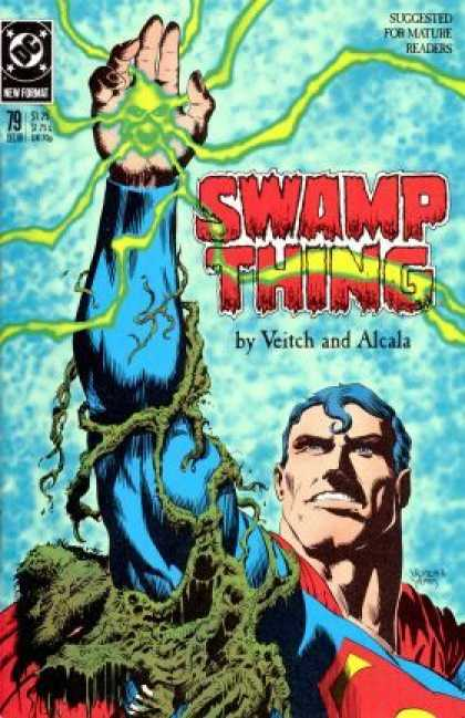 Swamp Thing 79 - Superman - Dc Vetch And Acala - Issue 79 - Swamp Thing - Dc Mature Readers - Rick Veitch, Thomas Yeates