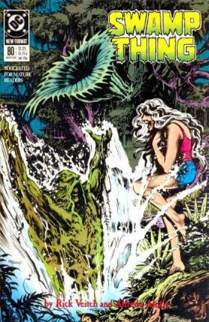 Swamp Thing 80 - Fly Trap - Woman - Rick Veitch - Water - Plants - Rick Veitch