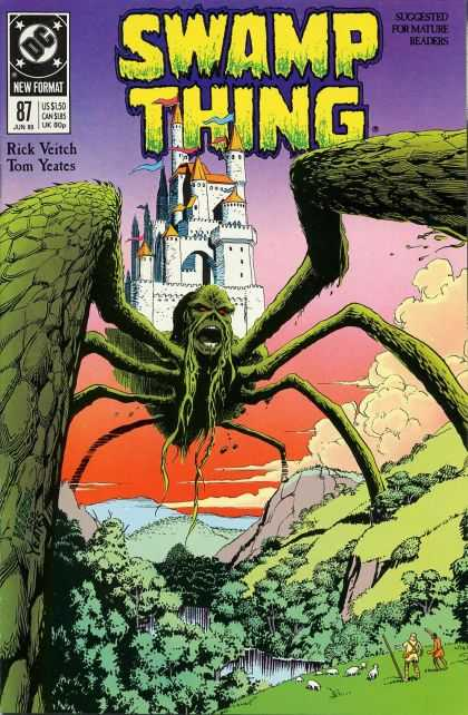Swamp Thing 87 - Rick Veitch, Thomas Yeates