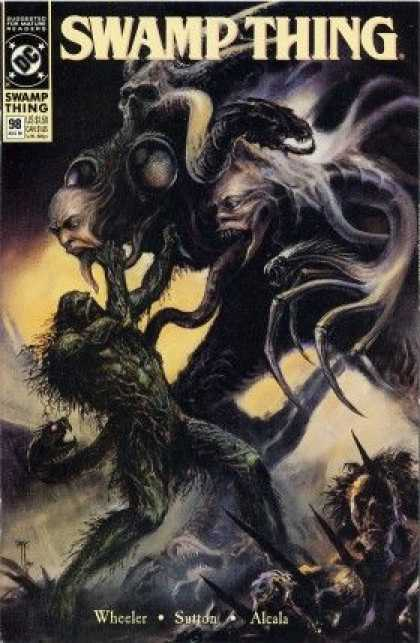 Swamp Thing 98 - Horror - Grotesque - Hydra - Undead - Ghost - John Totleben