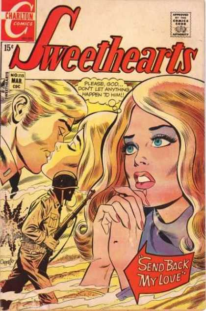 Sweethearts 115 - Romance - War - Soldier - Memories - Prayer