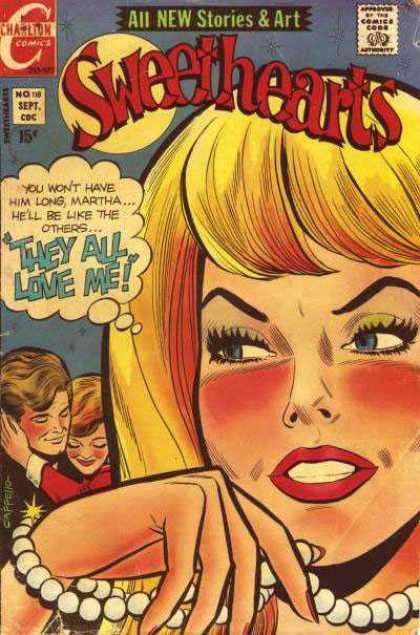 Sweethearts 118 - Women - Man - Pearls - Blonde - Romance