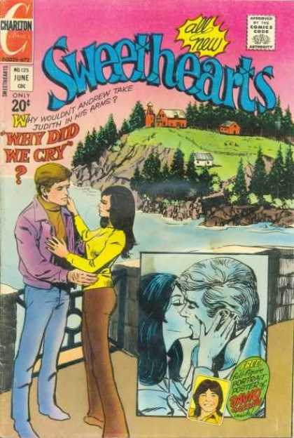 Sweethearts 125 - Man - Woman - Kiss - Farm - Cliffs