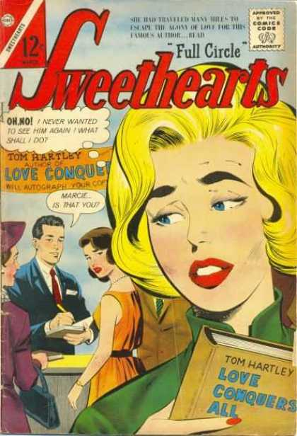 Sweethearts 70 - Approved By The Comics Code - Full Circle - Tom Hartley - Woman - Book