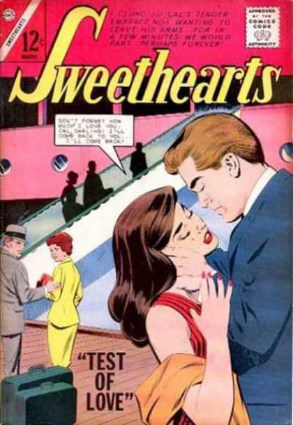 Sweethearts 76 - Couple - Girl - Boy - Sweetheart - Bag