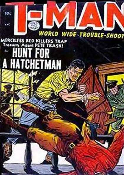 T-Man 16 - Tman - Hatchetman - Troubleshoot - Trap - Pete Trask