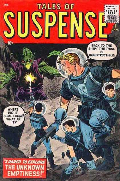 Tales of Suspense 1