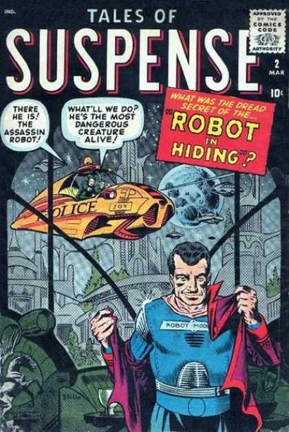 Tales of Suspense 2 - Assassin - Robot - Hiding - Creature - Police