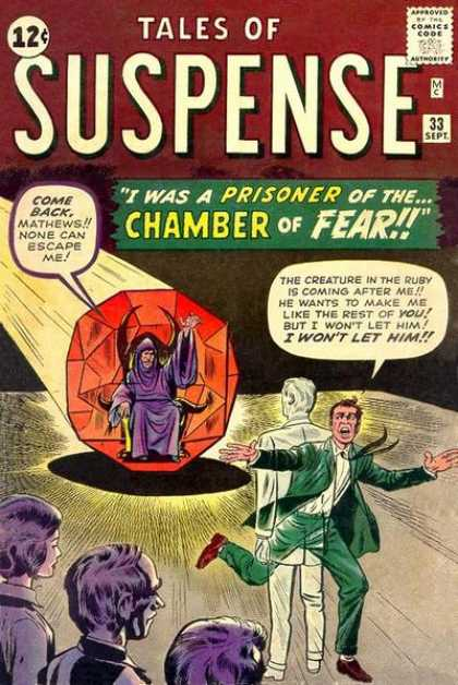 Tales of Suspense 33 - Ruby