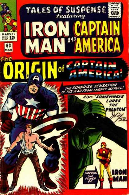 Tales of Suspense 63 - Dick Ayers, Jack Kirby