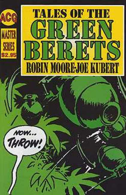 Tales of the Green Berets 7 - Acg - Master Series - Robin Moore - Joe Kubert - Now Throw