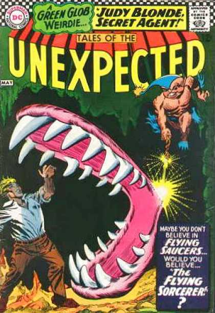 Tales of the Unexpected 100 - Teeth - Carmine Infantino, George Roussos
