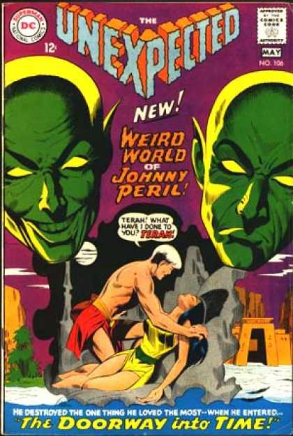 Tales of the Unexpected 106 - Johnny Peril - Alien - Terah