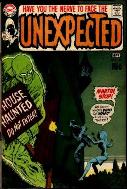Tales of the Unexpected 120 - Dc - September - 15 Cents - Speech Bubble - Have You The Nerve