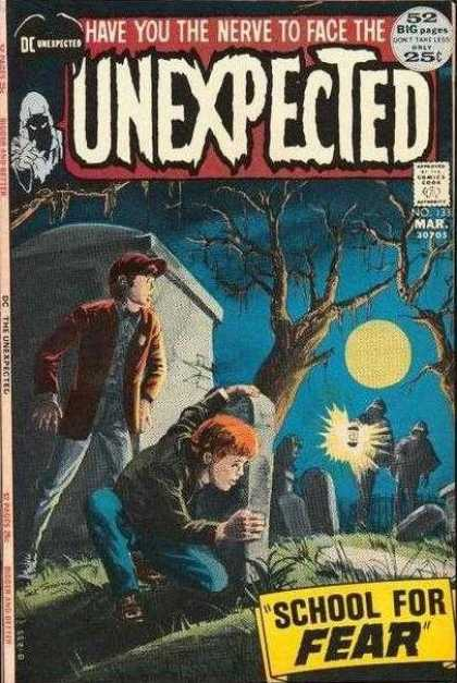 Tales of the Unexpected 133 - Full Moon - Graveyard - Hiding - Tombstones - Fear