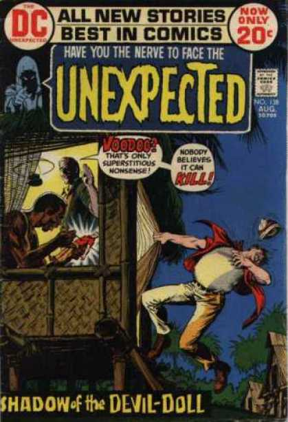Tales of the Unexpected 138 - Best Comics - Dc - No 13 Aug - Retro - Shadow Devil Doll