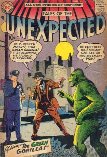 Tales of the Unexpected 14 - Gorilla - Sheldon Moldoff