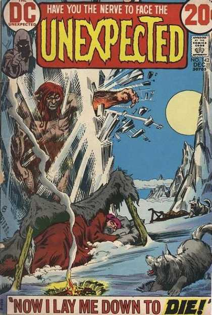 Tales of the Unexpected 142 - Frozen - Monster - Antarctic - Expedition - Big