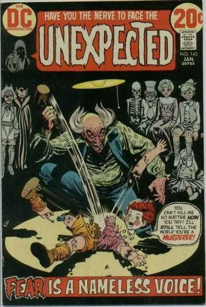 Tales of the Unexpected 143 - Doll - Hammer - Dc - The Unexpected - Have You The Nerve