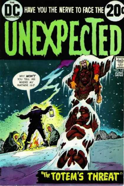Tales of the Unexpected 147 - Nerve - Face - Lantern - Partner - Snow