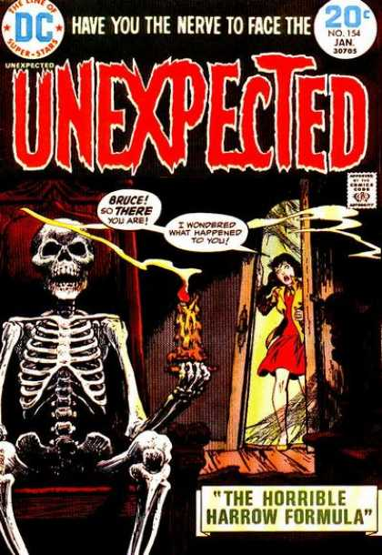 Tales of the Unexpected 154 - Skeleton - Candle