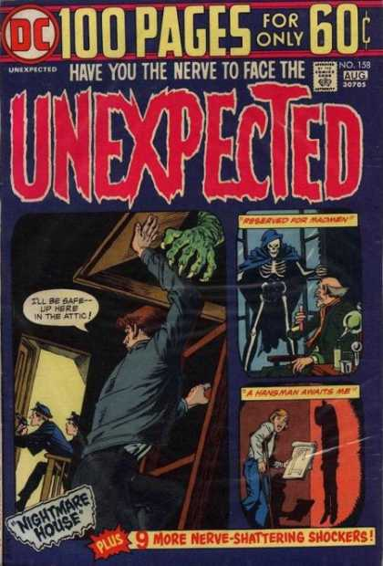 Tales of the Unexpected 158 - 100 Pages - Monster Hand - Undeath - Skeleton - Attic
