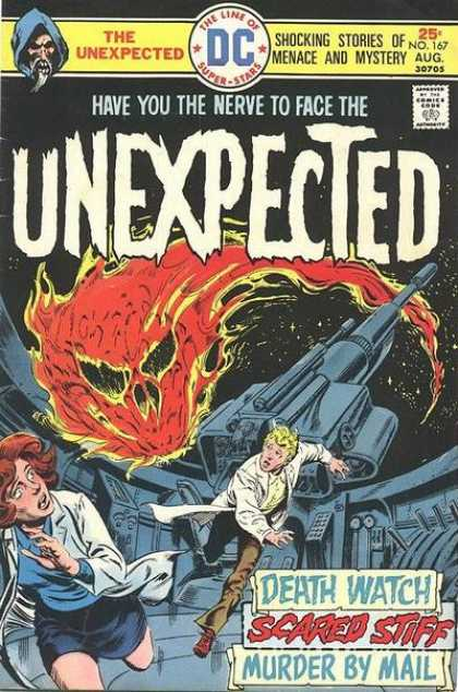Tales of the Unexpected 167 - No 167 Aug 30705 - Shocking Stories - Death Watch - Scared Stiff - Murder By Mail
