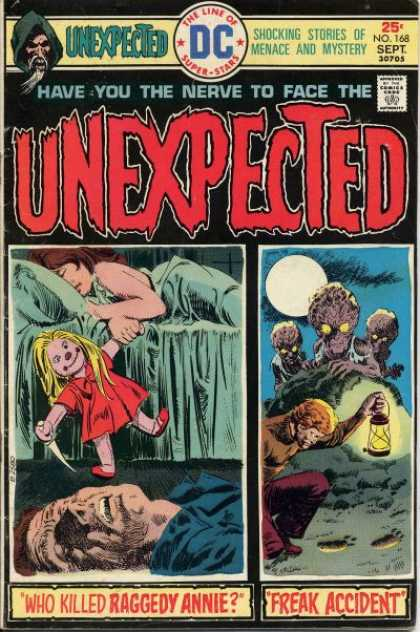 Tales of the Unexpected 168 - Freak Accident - Asleep - Full Moon - Footprints - Lantern