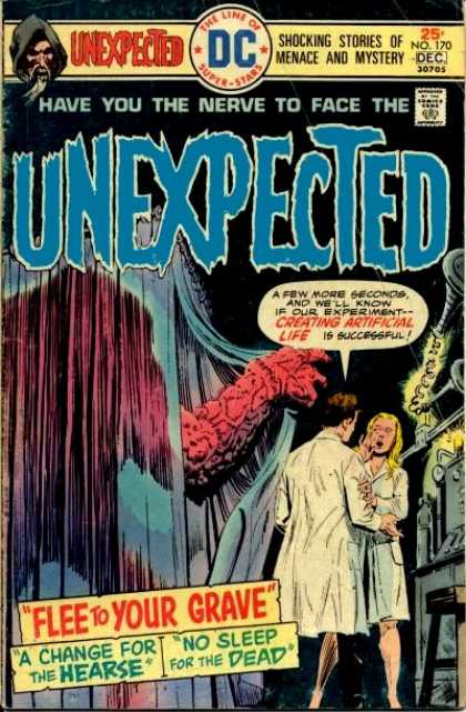 Tales of the Unexpected 170 - Menace - Mystery - Flee To Grave - Lab Coats - Hearse