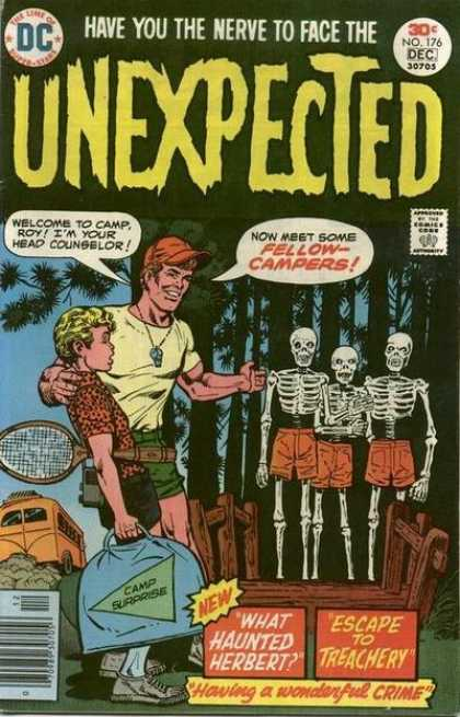 Tales of the Unexpected 176 - Terror In The Woods - Skeleton Triplets - Gone Camping - Tennis Racket - Camp Surprise
