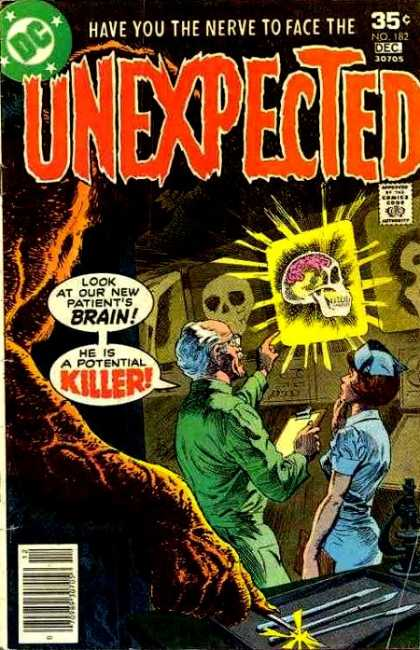 Tales of the Unexpected 182 - Brain - Nurse - Skull - Doctor - Scientist