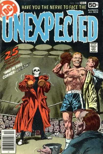 Tales of the Unexpected 188 - Death - Boxer - Crowd - Corner - Ring