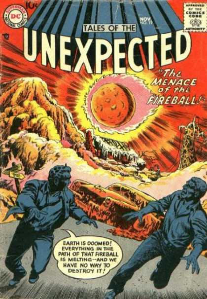 Tales of the Unexpected 19 - Fireball - Dc - November - Speech Bubble - Men