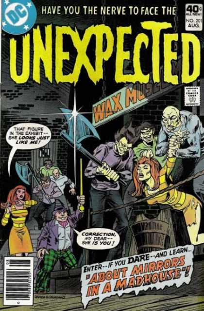 Tales of the Unexpected 201 - Spook You - Comics From Hell - Monsters - Haunted House - Scary Cartoons