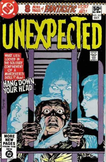 Tales of the Unexpected 203 - Fantastic - Story And Art - All New - Comics Code - Hang Down Your Head