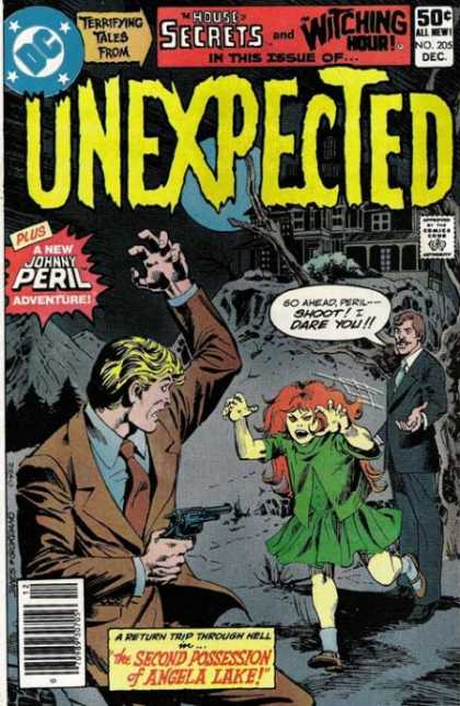 Tales of the Unexpected 205 - Johnny Peril - The House Secrets - The Watching Hour - Johnny Peril Adventures - A Return Trip Through Hell