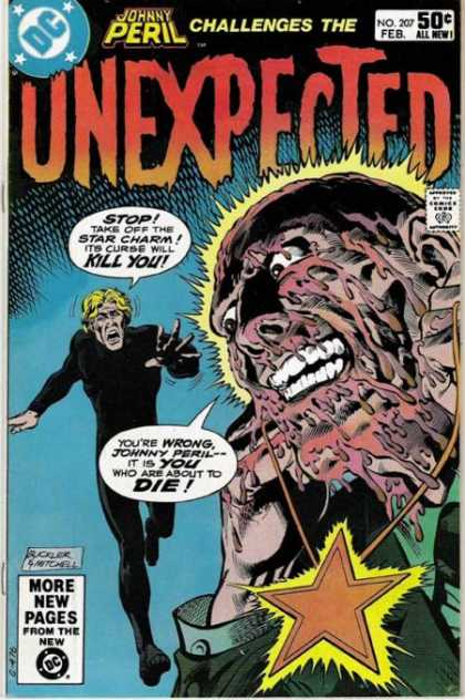 Tales of the Unexpected 207 - Johnny Peril - Star Charm - Melting