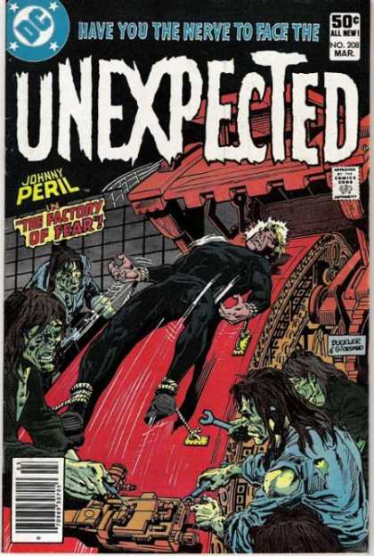 Tales of the Unexpected 208 - Zombies - Black And Red - Fear - Factory - Torture