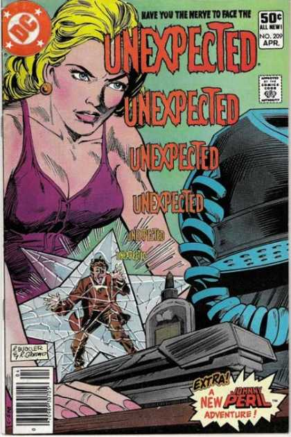 Tales of the Unexpected 209 - Blonde - Dc - April - Unexpected - Babe