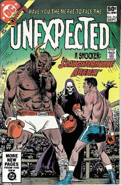 Tales of the Unexpected 214 - Boxing - Bull - Scary - Fighting - Evil