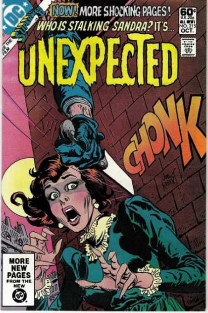 Tales of the Unexpected 215 - Terrified - Knife - Stabbing - Moon - Woman