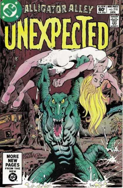 Tales of the Unexpected 218 - Dc - Alligator - Alley - No 218 - Jan