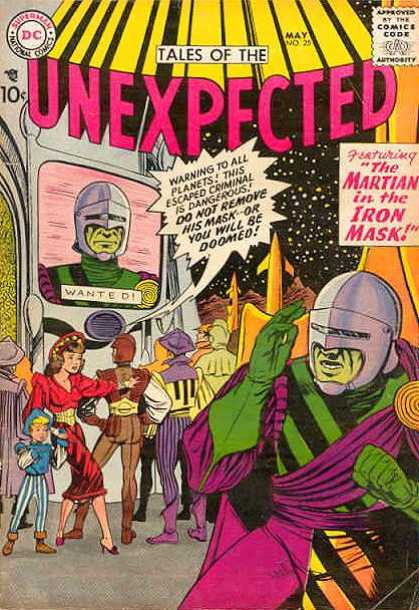 Tales of the Unexpected 25 - Martian - Iron Mask - Wanted - Fugitive - Doomed - Lou Cameron