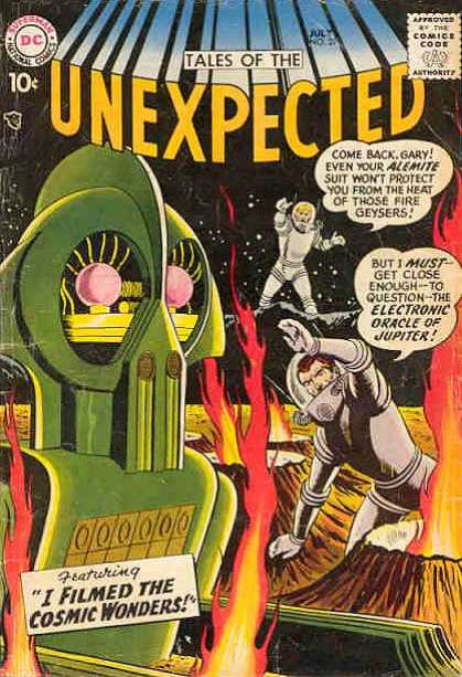 Tales of the Unexpected 27 - I Filmed Cosmic Wonders - Come Back - Green - Comic Code - Dc