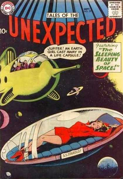 Tales of the Unexpected 29 - Space - Stardust - Sleeping Beauty - Challengers - Unknown