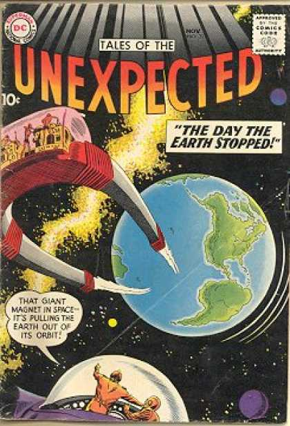 Tales of the Unexpected 31 - Earth - Magnet - Space - The Day The Earth Stopped - Space Ship