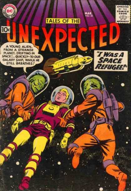 Tales of the Unexpected 35 - Space - Alien